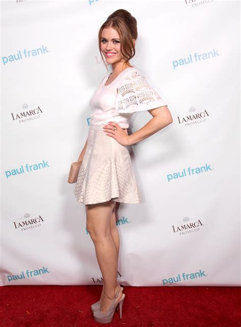holland roden white dress holland roden in white dress at paul frank fashion s night