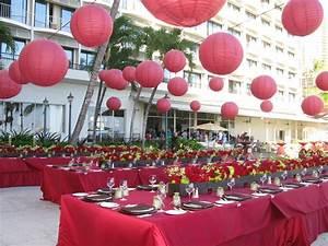 Décoration Salle Mariage : decoration de mariage rouge mariageoriginal ~ Melissatoandfro.com Idées de Décoration