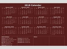 printable 2018 Calendar printable for Free Download