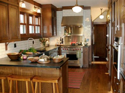 galley kitchen with peninsula peninsula kitchens hgtv 3720