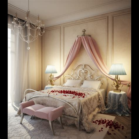 Home Design — Romantic Bedroom