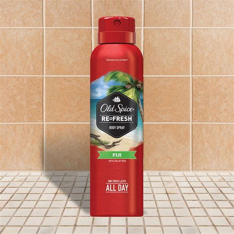 fiji fresher collection body spray