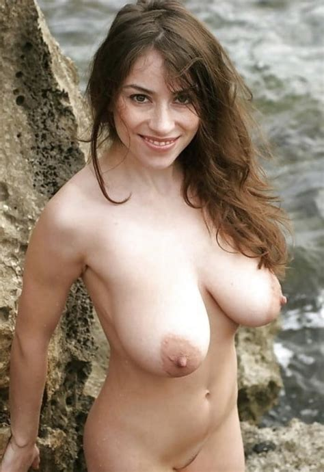 Pretty Brunette Milf With Gorgeous Tits Imyoungatheart