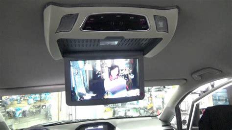 honda odyssey flip  dvd roof mount dvd player youtube