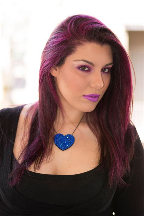 go bold with these jazzy purple hair color ideas