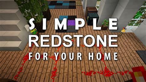 minecraft redstone   home  double doors