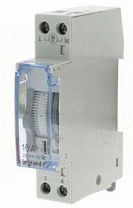 Disjoncteur Pour Vmc : horloge journali re 1 contact no legrand 412780 75 59 ~ Premium-room.com Idées de Décoration