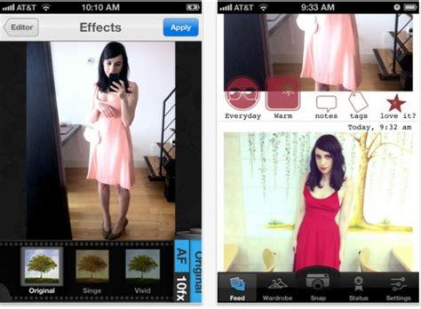 cloth the best iphone app for fashionistas can now tell
