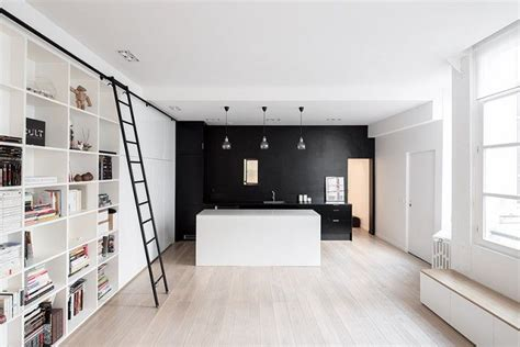 Minimalist Apartment For A Family Of Four by A Place For Everything A 900 Square Foot Loft For A