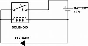 Choosing The Right  Flyback  Diode To Stop Contacts  Points  Arcing  Sparking  On Solenoid