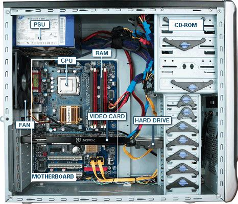 The Basic Parts Computer How Upgrade Them