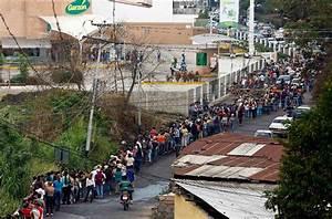 Se Forman Largas Filas En Venezuela Para Comprar Alimentos El Ma U00f1ana De Nuevo Laredo