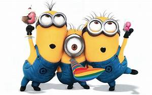 happy birthday minions - Free Large Images