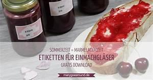 Etiketten Für Gläser : freebie etiketten f r marmelade konfit re oder aufstrich ~ One.caynefoto.club Haus und Dekorationen