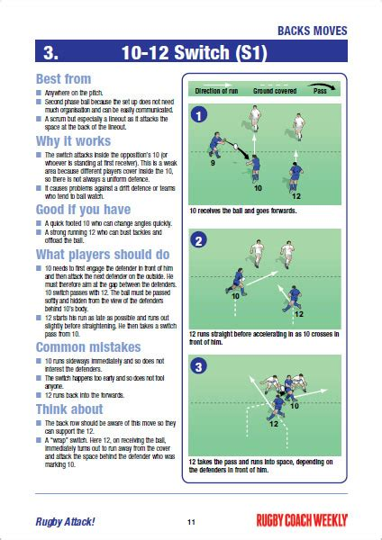rugby attack rugby coach weekly