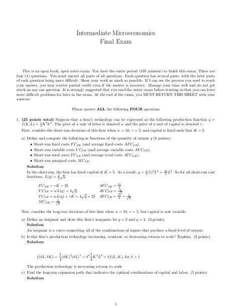 Microeconomics2 final exam_answers