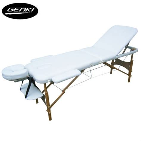 portable massage table carry bag portable 3 section massage table chair bed foldable with