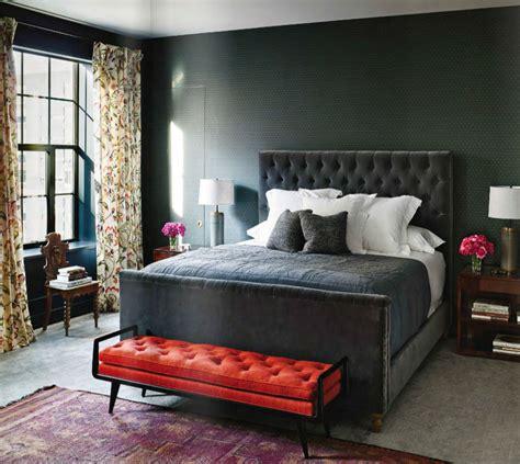 gray red  purple master bedroom interiors  color