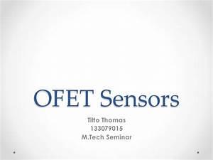 Ofet Sensors