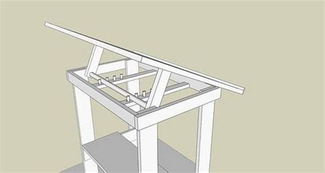 homemade drafting table drawing desk diy table diy