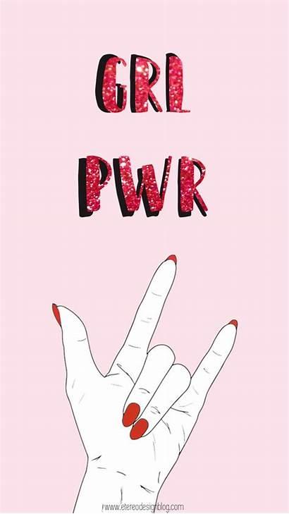 Sign Language Grl Pwr Fondos Pantalla Para