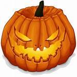 Halloween Pumpkin Transparent Icon Scary Lit Vecto