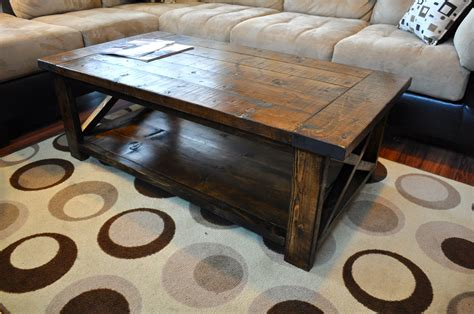 farm style coffee table ana white farmhouse style rustic x coffee table diy