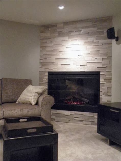 room candy  corner fireplace makeover