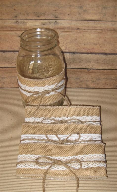 wedding decorating with burlap and mason jars best 20 mason jar burlap ideas on pinterest babys