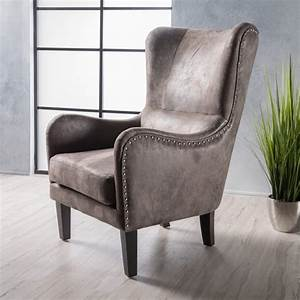 Shop, Lorenzo, High-back, Studded, Fabric, Club, Chair, By, Christopher, Knight, Home, -, On, Sale