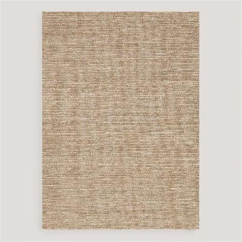 world market jute rug beige deca flat woven jute rug world market