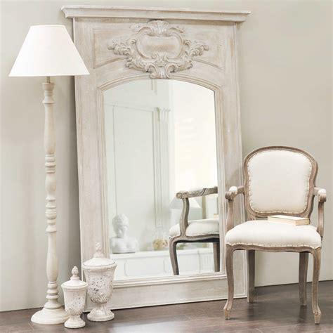 chambre fille ado ikea miroir trumeau en bois gris h 180 cm garance maisons du