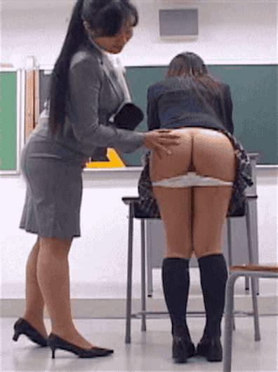 Lesbian Teacher Punishes Sch00lg1rl Boobspussyassman