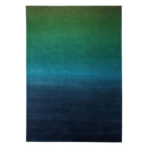 tapis bleu et vert tapis summer vert et bleu esprit home 70x140