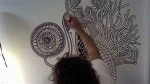 Gras An Die Wand Malen : farbenbaden malt die wand an youtube ~ Markanthonyermac.com Haus und Dekorationen