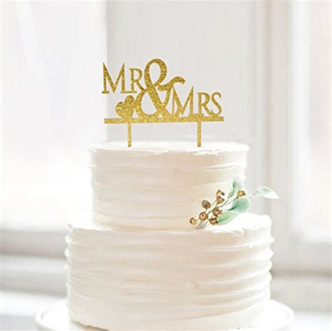 Buy Bling Bling Gold Mr And Mrs Cake