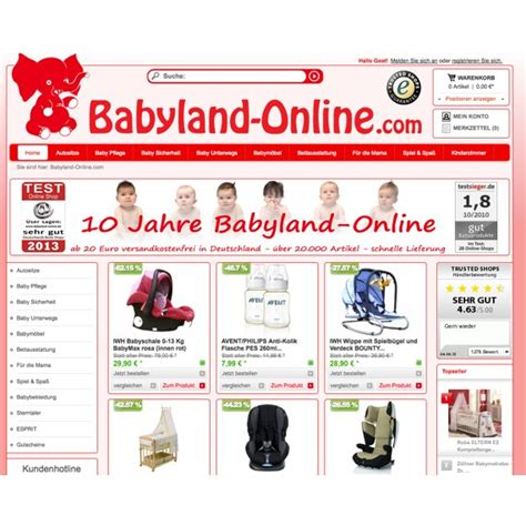 Babylandonline Gutschein September 2018 Babylandonline