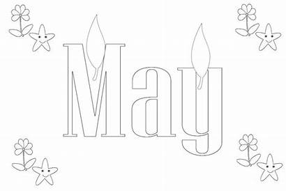 Coloring Pages Months Month Printable Freecoloring March