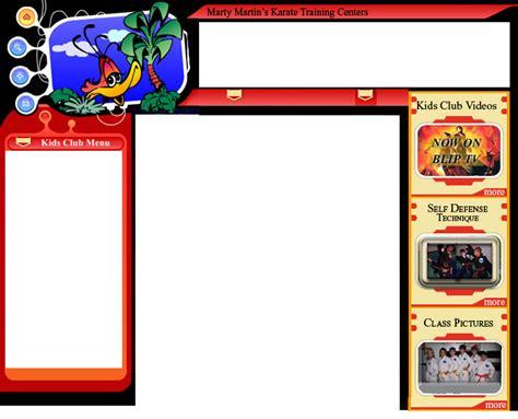 Kenpo Kids Club Coloring Page