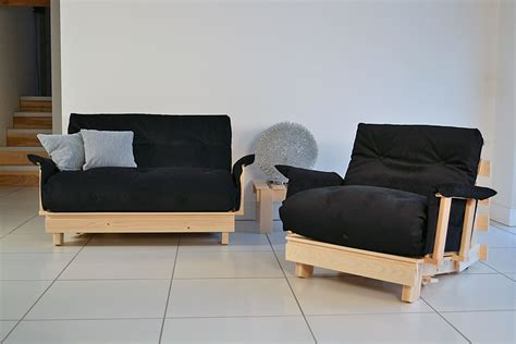 1 Seater Futons & Chairs  Traditional Futon Single