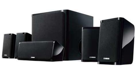 yamaha ns p40 yamaha ns p40bl 5 1 speaker package black