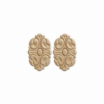 Wood Ornamental Mouldings Moulding Birch Ornament Rosette