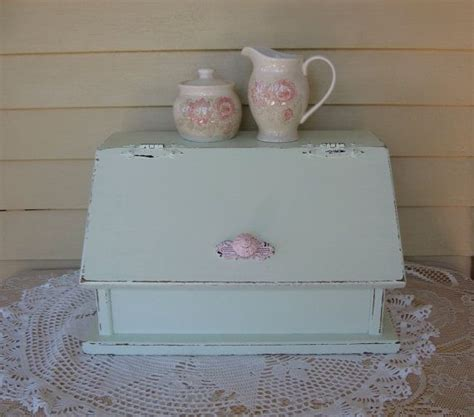 shabby chic bread box 162 best images about bread box s on pinterest shabby chic wooden bread box and vintage bread