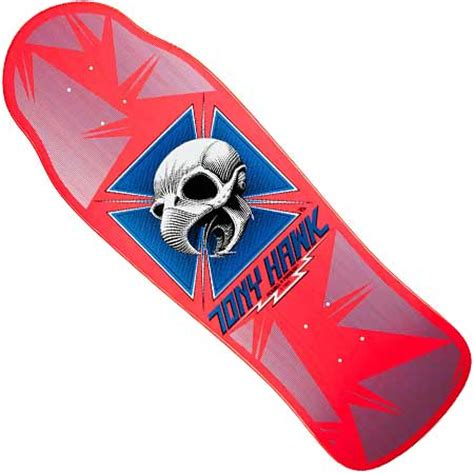 Tony Hawk Reissue Skate Deck by Powell Peralta Bones Brigade Tony Hawk Reissue Deck In