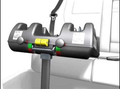 siège bébé recaro installation du siège auto profi plus isofix