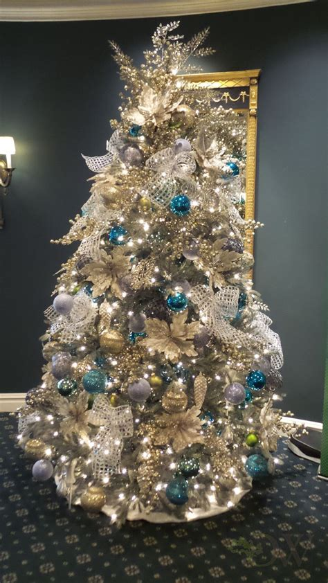 blue and gold christmas trees 25 best ideas about turquoise on turquoise decorations