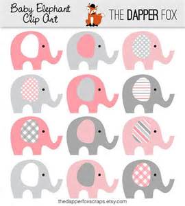 elephant baby shower centerpieces baby girl elephant clipart