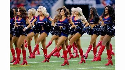Cheerleader Texans 4k Blonde Wallpapers Desktop
