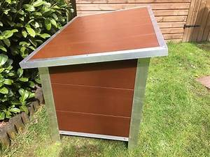 Paw Pad Dog Kennel Insulated Brown