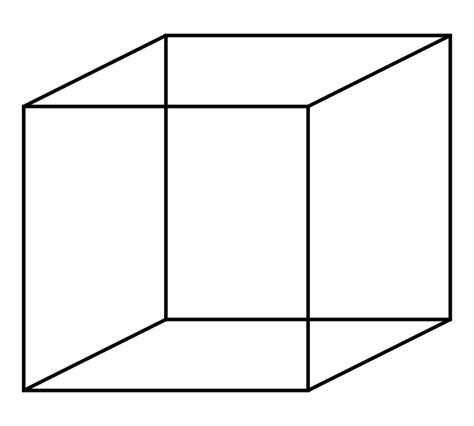 Image Cube File Necker Cube Svg Wikimedia Commons